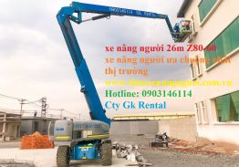 ARTICULATED BOOMLIFT GENIE Z-80/60